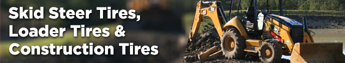 Skid Steer Tires, Backhoe Tires and Loader Tires