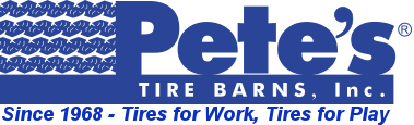 Pete's Tire Barns Online Tire Store