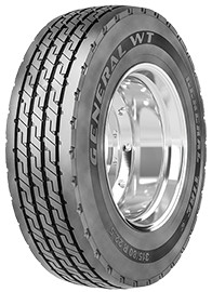 general wt commercial truck tire  ply