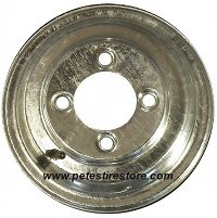 Plain Galvanized Wheel