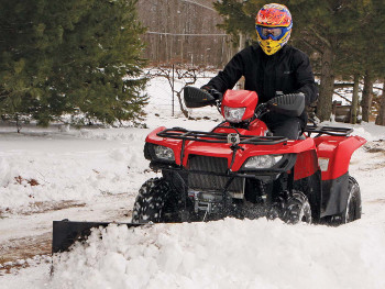 Tips For Using An Atv For Snow Plowing