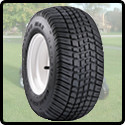 Mounted Golf Cart Tires