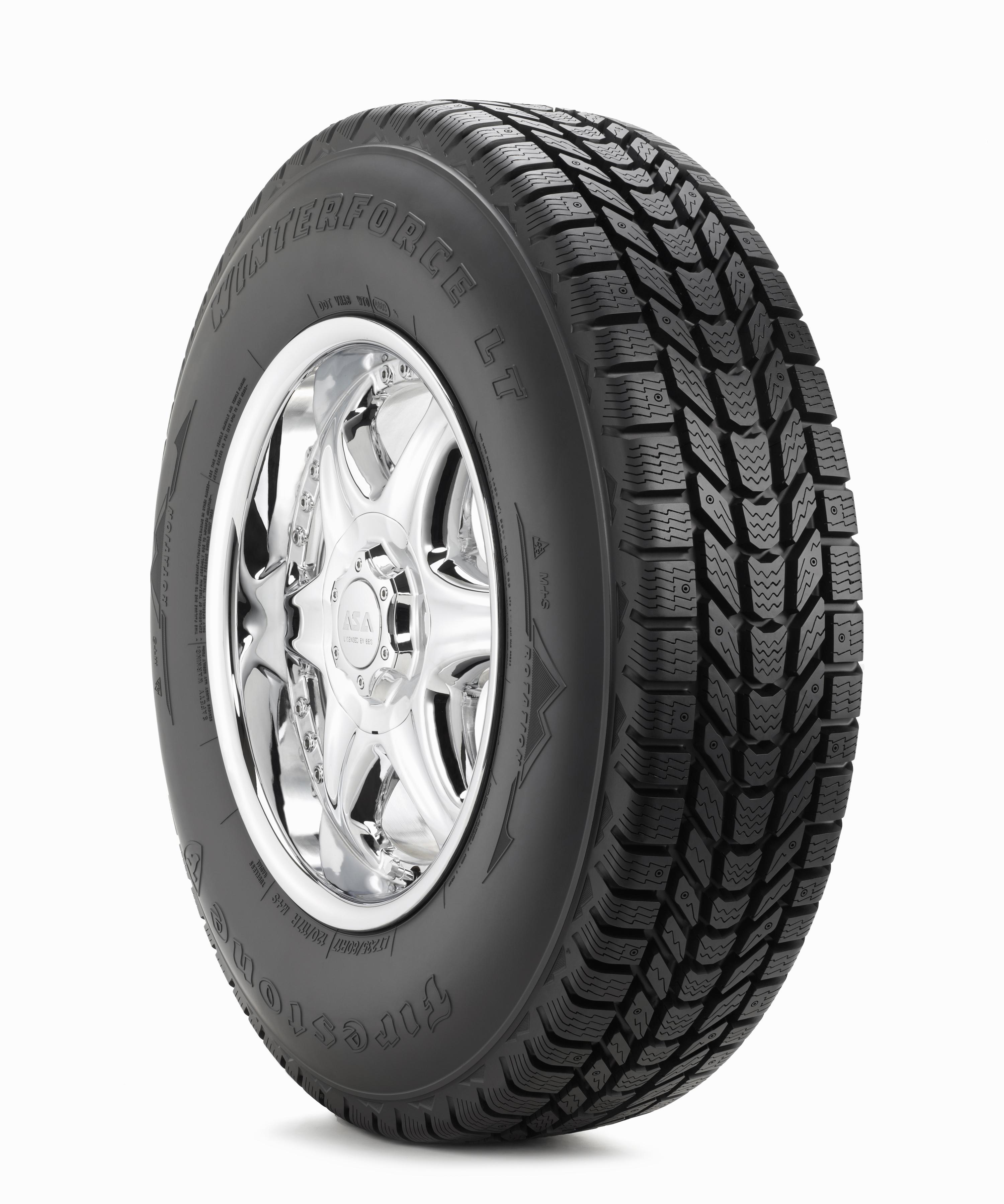 Firestone Winterforce Tires >> LT265/70R17 Firestone Winterforce LT Snow Tire (LRE)