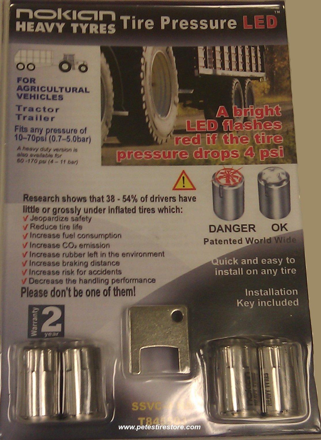 nokian low tire pressure led indicator low psi. Black Bedroom Furniture Sets. Home Design Ideas