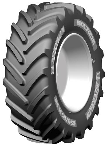 650 65r38 Michelin Multibib Radial Tractor Tire 20 8r38