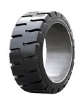 21x7-15 Maine Industrial Tire MPC2 Solid Press On Forklift Tire (Traction)