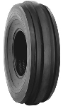 4.00-19 Firestone Guide Grip 3-Rib Front Tractor Tire (4 Ply) (TT)