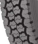 11R22.5 General Ameri-Steel D460 Commercial Truck Tire (14 Ply)