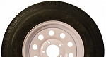 Greenball Transmaster Radial Trailer Tire and Wheel