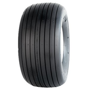 13x5.00-6 Greenball Straight Rib Lawn Tractor Tire (4 Ply)