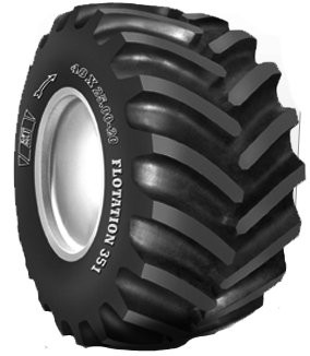 48x25-20 BKT FL-351 HF-3 High Flotation Farm Tire (10 Ply) (TL)