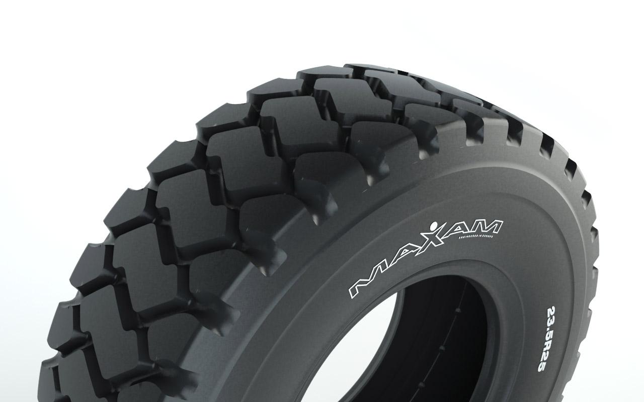 20.5R25 Maxam MS301 Radial Loader Tire (2-star)