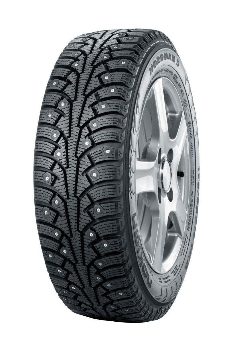 Nokian All Weather Tires >> 205/65R15 XL Nokian Nordman 5 Studded Snow Tire (99T)