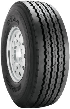 425/65R22.5 Bridgestone R244 Commercial Truck Tire (20 Ply)
