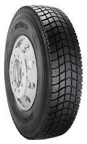 295 75r22 5 Bridgestone W919 Commercial Truck Tire 16 Ply