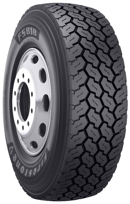 385 65r22 5 firestone fs818 commercial truck tire 18 ply. Black Bedroom Furniture Sets. Home Design Ideas