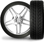 235/55R17 BFGoodrich G-Force Super Sport A/S Tire (99W)