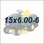 15x6.00-6 Lawn Tractor Tires