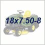 18x7.50-8 Lawn Tractor Tires