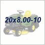 20x8.00-10 Lawn Tractor Tires