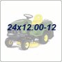 24x12.00-12 Lawn Tractor Tires