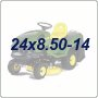 24x8.50-14 Lawn Tractor Tires