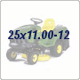 25x11.00-12 Lawn Tractor Tires