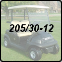 205/30-12 Golf Cart Tires