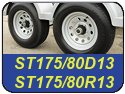 ST175/80D13 and ST175/80R13 Trailer Tires