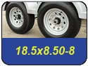 18.5x8.50-8 Trailer Tires
