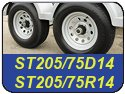 ST205/75D14 and ST205/75R14 Trailer Tires