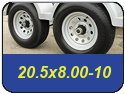 20.5x8.00-10 Trailer Tires
