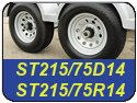 ST215/75D14 and ST215/75R14 Trailer Tires