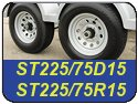 ST225/75D15 and ST225/75R15 Trailer Tires