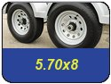 5.70x8 Trailer Tires