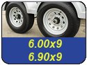 6.00x9 and 6.90x9 Trailer Tires