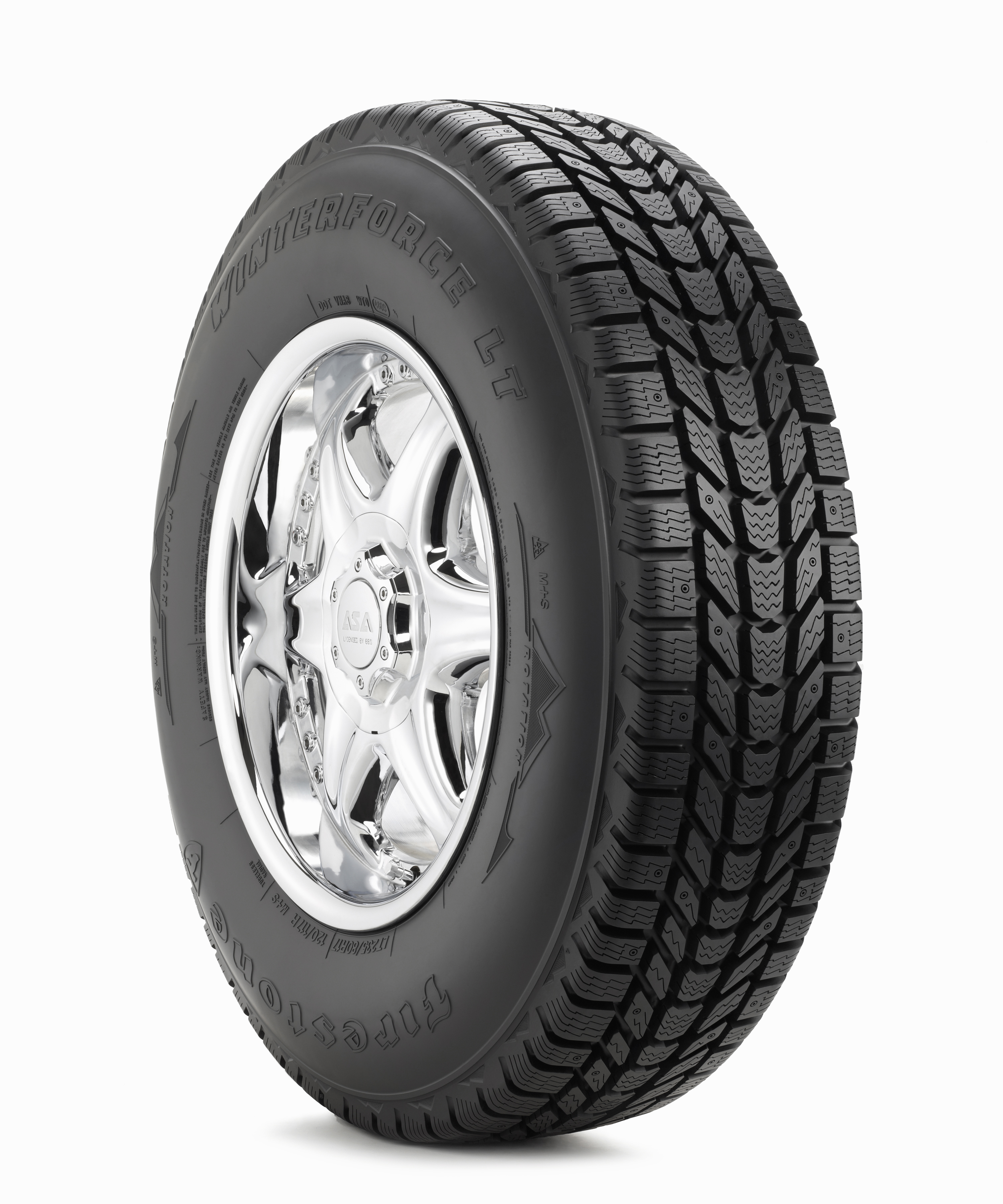Firestone Winterforce Tires >> LT245/75R16 Firestone Winterforce LT Snow Tire (LRE)