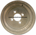 10x6 Greenball Galvanized Trailer Wheel (4 Lug)