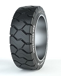 18x7x12 1/8 Maxam Industrial Pro MS601 Press On Solid Forklift Tire (Traction)
