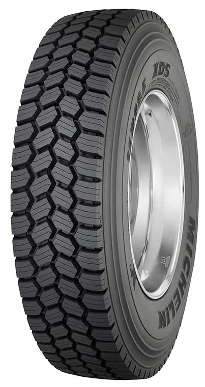 Truck Snow Tire >> 12R22.5 Michelin XDS Commercial Truck Tire (16 Ply)