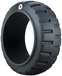 18x7x12-1/8 Trelleborg Monarch Press On Solid Forklift Tire