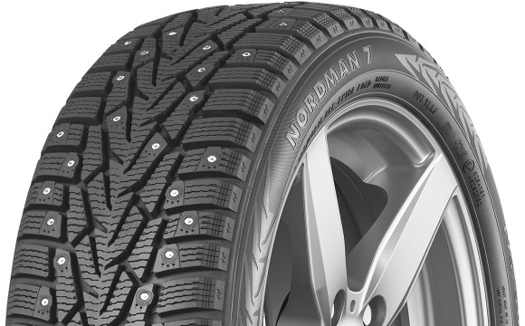 205 55R16 Winter Tires >> 205/55R16 Nokian Nordman 7 Studded Snow Tire (94T)