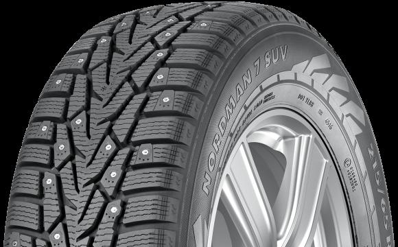 245 65r17 Xl Nokian Nordman 7 Suv Studded Snow Tire 111t