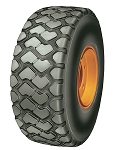 20.5R25 Double Coin REM-2 Radial Earthmover and Loader Tire (2 Star)