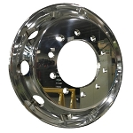 22.5x8.25 Forged Aluminum Hub Pilot Truck Wheel