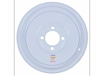 8x3.75 Americana White Trailer Wheel (4 Lug)