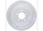 8x7 Americana White Trailer Wheel (5 Lug)