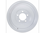 8x5.375 Americana White Trailer Wheel (5 Lug)