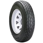 4.80-12 Carlisle Sport Trail LH Trailer Tire and Wheel (LRC) (5 Lug)