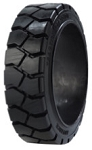18x6x12-1/8 Advance Press On Band Forklift Tire (Traction)